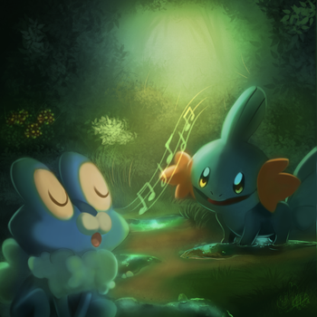 Froakie's song by mudkip-chan