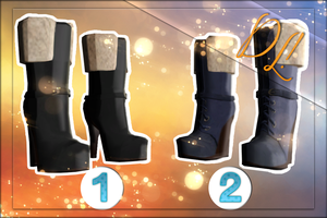 [MMD]  FEMALE BOOTS (DL) by Unreala