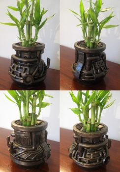 Bamboo Industropot by Archaedin