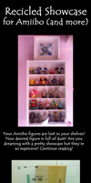 Showcase for Amiibo and little treasures by Ishtar-Creations