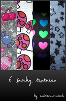 funky textures by rainbows-stock