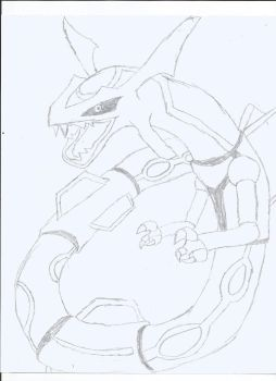 Rayquaza by safehouse599