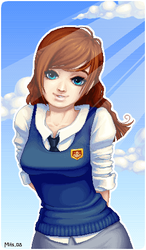 schoolgirl by omg-its-mits