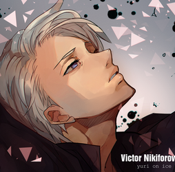 Yuri!!! on Ice - Victor Nikiforov by Shi-horitsu
