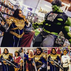 Jor-El Cosplay at Tate's Not at Comic Con 2017 by AzraelFallen18