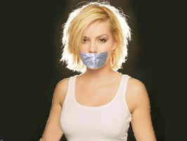 Elisha Cuthbert taped by ikell