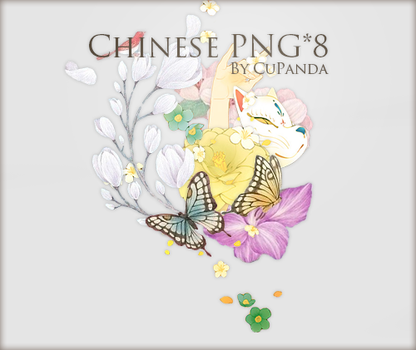 Chinese png by CuPanda