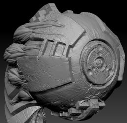 highpoly sculpt 04 by Indrome