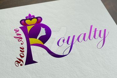 Woman Royalty Logo#2 by amoeed