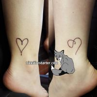 Best Friend Tattoos by NikkiFirestarter