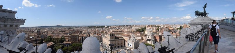 Panorama of Rome by OneeTruth