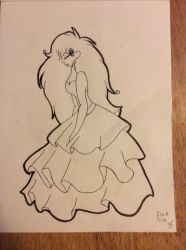 Customized Coloring Book Page 5 by Cedra331