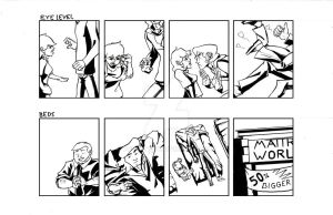 'Tall' Comic Strips 1 and 2 by Polartech