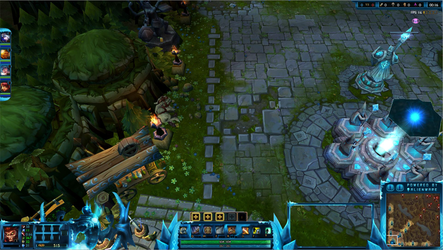 Frozen Terror Nocturne League of Legends Overlay by Melificence