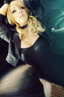 Black Canary by Its-Raining-Neon