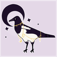 Magpie by Sila--Chan