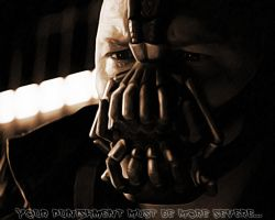 The Dark Knight Rises. Suffering by StalkerAE