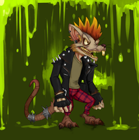 Lol: Twitch the plague rat by Mikkynga