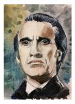 Christopher Lee the BDE (best Dracula ever)