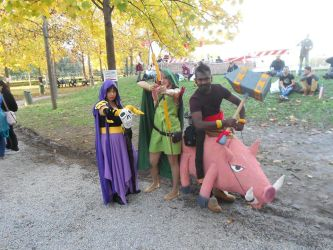 Clash of clans cosplay by hyoga92