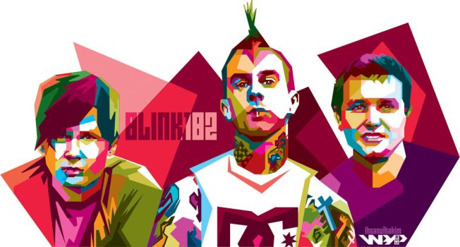Blink 182 by ihsanulhakim