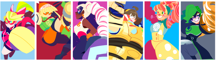 ARMS girls by undernet5
