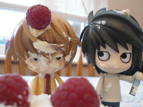 Death Note: Food Fight Part 2 by Bexifer