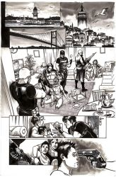 Firestorm 1 page 1 by Cinar