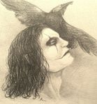 The crow sketch by ValeoCrow