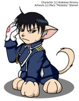 Roy Mustang Cat by modesty