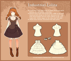 Industrial Lolita Design by nokecha