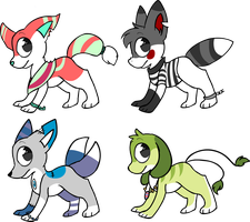 Adoptables 1 LEFT! #2 , 25 pts by Pixie-Fluff