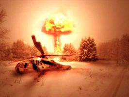 Nuclear Strike by marcnail