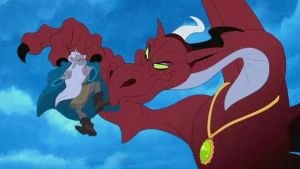 Tom and Jerry Lost Dragon-Dragon by GiuseppeDiRosso