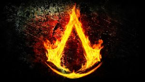 Assassin's Creed Logo Fire by ThunderboltMmo