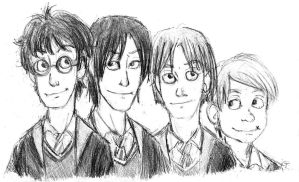 The Marauders - Doodle - by batteryfish