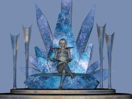 Frostbyte Throne by Silver-Tiamat