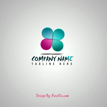 Stunning Graphic Design Logo Templates free by ROSEWALLPAPERS
