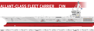 Gallant-class CVN, CATOBAR by Afterskies