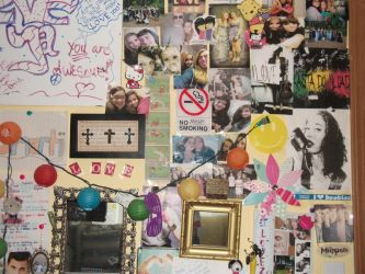 More collages on my wall by changeinbloom