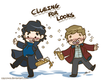 BBC Sherlock - Clueing for Looks by caycowa