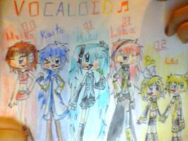 Vocaloid by cocakirby