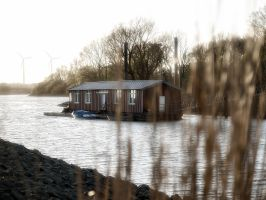 Boathouse by Inilein
