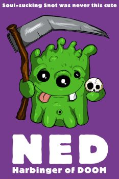 Ned Harbinger of DOOM by happymonkeyshoes