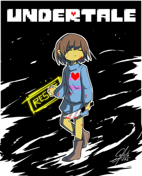 Undertale Frisk by Calista-222