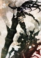 insane BLACK ROCK SHOOTER 2 by ryoheihuke