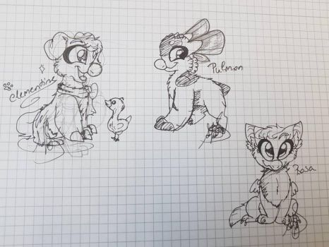 some doodles by TheWarriorDogs
