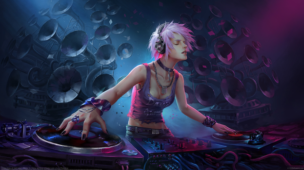 House music all night long 4K by CGWallpapers-com