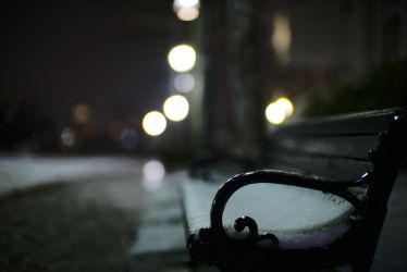 Snow Bench by UltraSonicUSA
