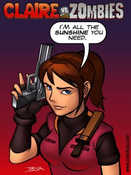 Claire Redfield by JoelChua